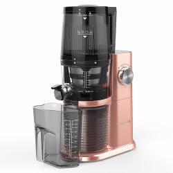 HUROM/惠人 新四代家用大口径多功能低速榨汁机  玫瑰金