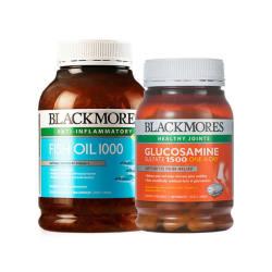 BLACKMORES/澳佳宝 组合装  原味深海鱼油 400粒 + 维骨力关节灵 180片 组合装