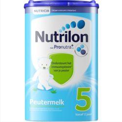【6件装】荷兰 牛栏(Nutrilon)婴幼儿奶粉 5段(新包装) 800g
